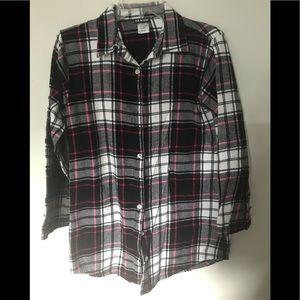 Joe boxer flannel long sleeve shirt